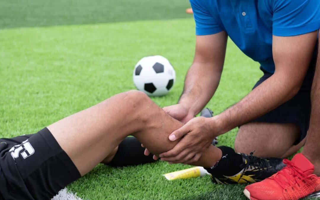Tipos de lesiones del futbolista